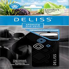 <b>Ароматизатор Deliss картонный</b>, <b>серия</b> Comfort от интернет ...
