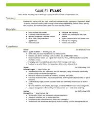 Resume examples, Resume and Fast foods on Pinterest Fast Food Server Resume Example - Fast Food Server Resume Example we provide as reference to