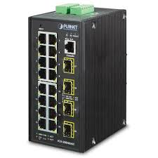<b>IP30 Industrial 16* 10/100</b>/<b>1000TP</b> + 4* 100/1000F SFP Full ...