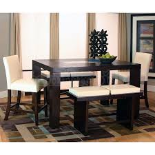 rectangle counter height dining sets