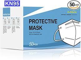 Kingfa KN95 Face Mask Non-NIOSH Respirator 5-Ply ... - Amazon.com