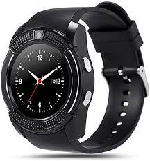 INDI <b>V8</b> Smart Watch <b>Bluetooth</b> Smartwatch with Camera: Amazon ...