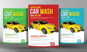car wash flyer photos graphics fonts themes templates car wash flyer template