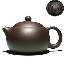 9.5oz <b>real yixing</b> zisha tea pot on sales ball shaped infuser holes ...