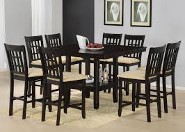 piece counter height dining set jaden square ideas of counter height dining table with lazy susan