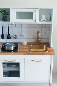 images ikea duktig hacks ikea duktig mini kitchen makeover added paint tile backsplash oven kno