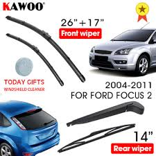 KAWOO Car Wiper Blade Windscreen Front Rear Wipers For Ford ...