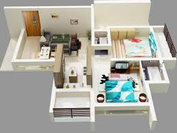 Two  quot   quot  Bedroom Apartment House Plans   Architecture  amp  Design  Bold Two Bedroom Apartment Design