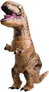 Rubie's <b>Adult</b> Official Jurassic World Inflatable <b>Dinosaur</b> Costume