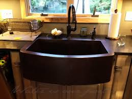 farmhouse curvo apron kitchen sink kitchen