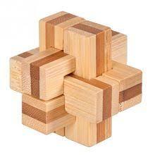 3D Vintage Ming <b>Lock Luban</b> Wood Toy Adult Puzzle <b>Children</b> Adult ...