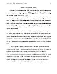 philosophy essays examples  www gxart orgcapstone essay examples essay topicspersonal nursing philosophy paper nursing philosophy papers sample