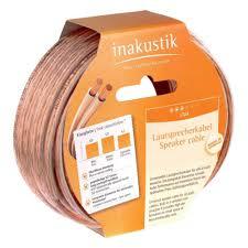 <b>Кабель акустический INAKUSTIK</b> Star LS cable, 2 x 0.75 mm2, 6 м ...