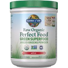 <b>Raw Organic Perfect</b> Food Green Superfood - Apple - 231g | Garden ...