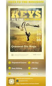 keys to the kingdom church flyer template psdbucket com keys to the kingdom church flyer template