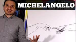 How to Draw The <b>Creation of Adam</b> By Michelangelo - YouTube