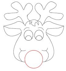 printable reindeer face craft antlers or handprints reindeer reindeer template printable besides reindeer felt template additionally reindeer patterns for clip art christmas crafts also printable reindeer crafts