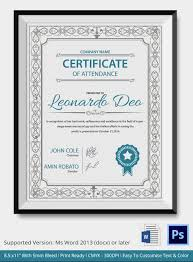 certificate certificate template in word certificate template in word image