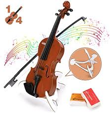 BAOLI Kids Simulation Violin Toys with Free Rosin ... - Amazon.com