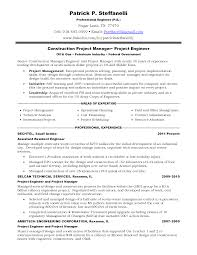 engineer project engineer resume  seangarrette co   resume project engineer