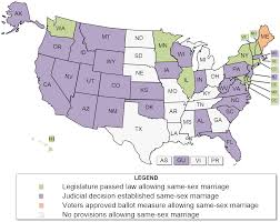 same sex marriage laws 50 state map