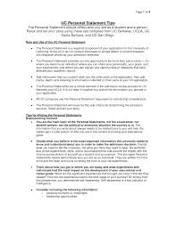 uc personal statement example   best template collectionuc personal statement example w wkpeio