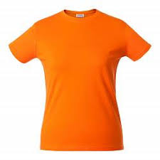<b>Футболка женская HEAVY LADY</b> оранжевая, размер M купить ...