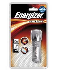 <b>Фонарь Energizer ENR</b> Low cost <b>Metal</b> Light 3AAA 638842 - купить ...