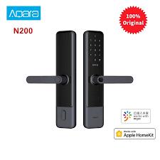<b>Aqara N200 Smart</b> Door Lock Fingerprint Bluetooth Password NFC ...