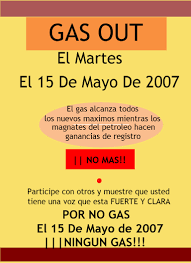 printable flyers gas out a grassroots movement flyer 3