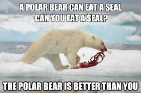 A-Polar-Bear-Can-Eat-A-Seal-Can-You-Eat-A-Seal-Funny-Bear-Meme-Picture.jpg via Relatably.com