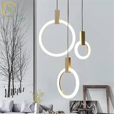 <b>Modern Wood Led Pendant</b> Lights For Lobby Dining Room Acrylic ...