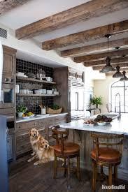 gallery los angeles open kitchen  cacad  hbx weathered kitchen cabinets barrett  s