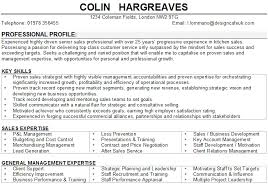 Retail Manager CV Sample best