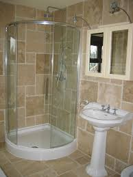 shower small bathroom designs corner square