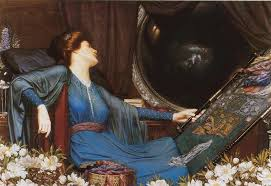 behold the stars  the lady of shalott by alfred  lord tennyson i am half sick of shadows  quot  said the lady of shalott by sidney harold meteyard