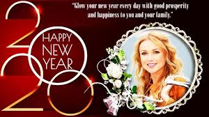 Happy New Year Photo Frame 2020 photo editor for Android - APK ...
