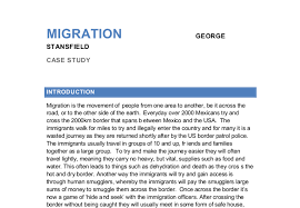 migration essay  fawmyfreeipme mexico to usa migration case study gcse geography marked by document image preview