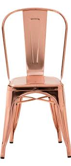 modern stainless steel dining chairs wedding rose gold copper a daccor if i could get these chairs for my table