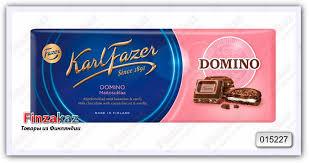 Купить <b>Шоколад</b> Fazer <b>Domino</b> 195 гр в магазине Finzakaz