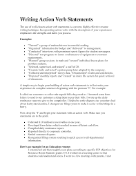gallery for quot action verbs for resume writing quot