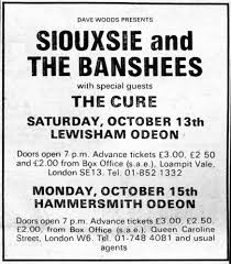 <b>Siouxsie</b> & The <b>Banshees</b> w/ The Cure '79 Melody Maker Concert ...