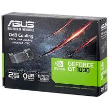 Характеристики модели <b>Видеокарта ASUS GeForce GT</b> 1030 ...