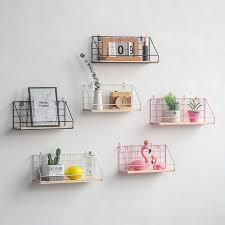 Wall <b>Shelf</b> Bedroom Kitchen Living Room Wall Storage <b>Rack</b> Home ...