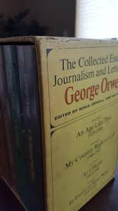 the collected essays journalism and letters of george orwell  the collected essays journalism and letters of george orwell 4 volume set george orwell sonia orwell ian angus com books