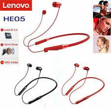 <b>Lenovo HE05 Pro Wireless</b> Headphone BT5.0 In-Ear Headset ...