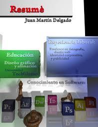 d resume by martindelgado on 3d resume by martindelgado