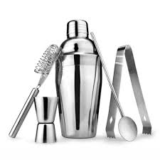 <b>Cocktail Shaker Set</b>,14 Piece Bartender Kit for <b>Drink</b> Mixing ...