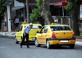 Edirne'de taksimetreyi açmayan şoföre 457 lira ceza