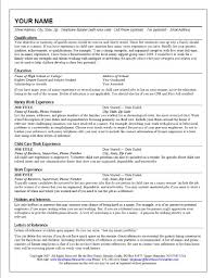resume nanny experience au pair cover letter sample resume resume gallery of background investigation cover letter